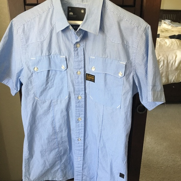 G-Star Other - Men s G- Star button down t-shirt 9b8ad3be6